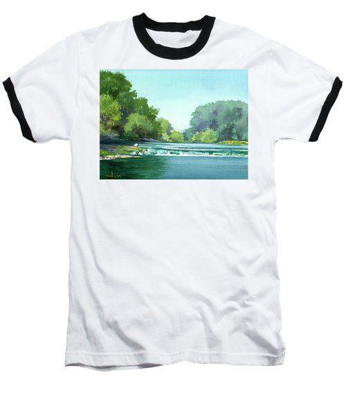 Falls At Estabrook Park Baseball T-Shirt