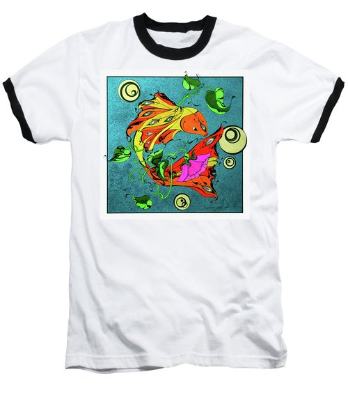 Fantasy Fish Baseball T-Shirt
