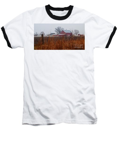 Farm House Baseball T-Shirt