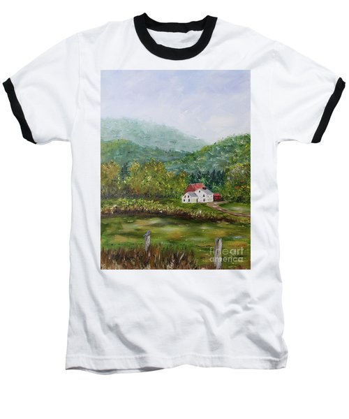 Farm In The Valley Baseball T-Shirt