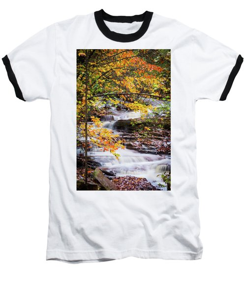 Baseball T-Shirt featuring the photograph Farmed With Golden Colors by Parker Cunningham