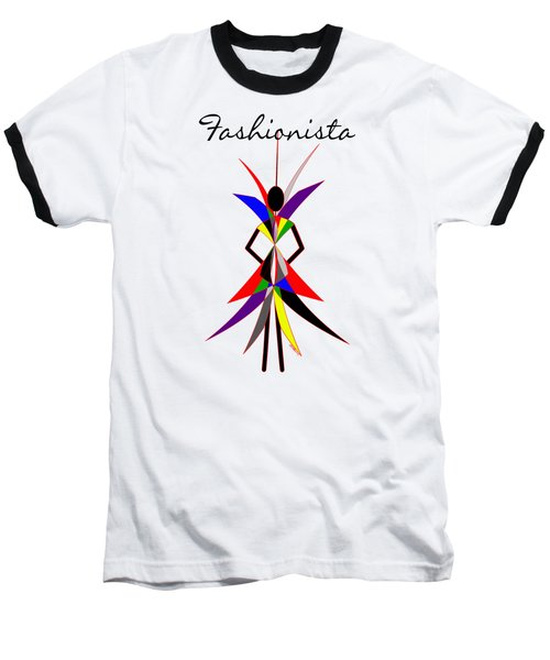 Fashionista Baseball T-Shirt