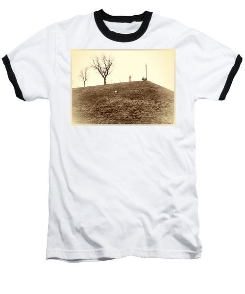 Baseball T-Shirt featuring the photograph Federal Hill by Brian Wallace