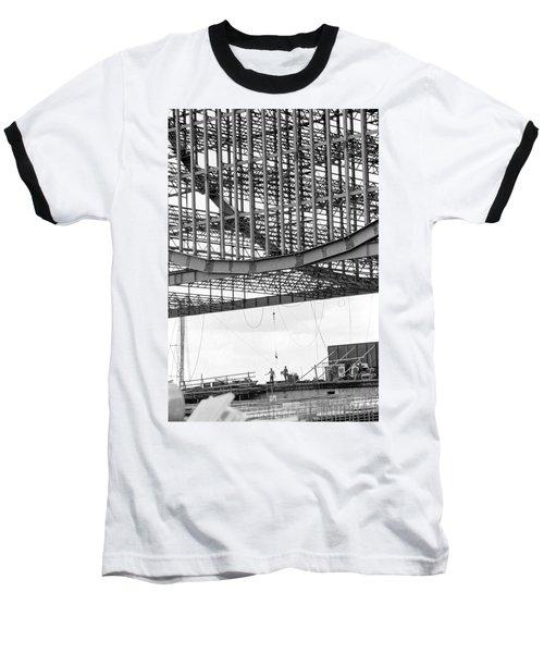Federal Reserve Construction Baseball T-Shirt