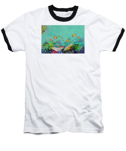Feeding Time Baseball T-Shirt by Lyn Olsen