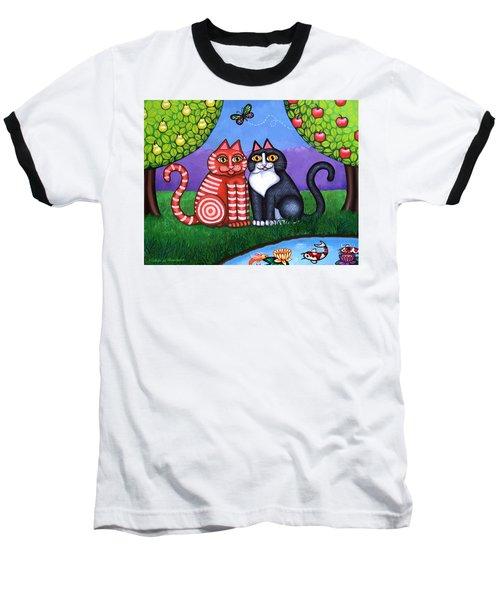 Feeling Koi Baseball T-Shirt