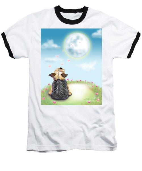 Feeling Love Baseball T-Shirt by Catia Cho