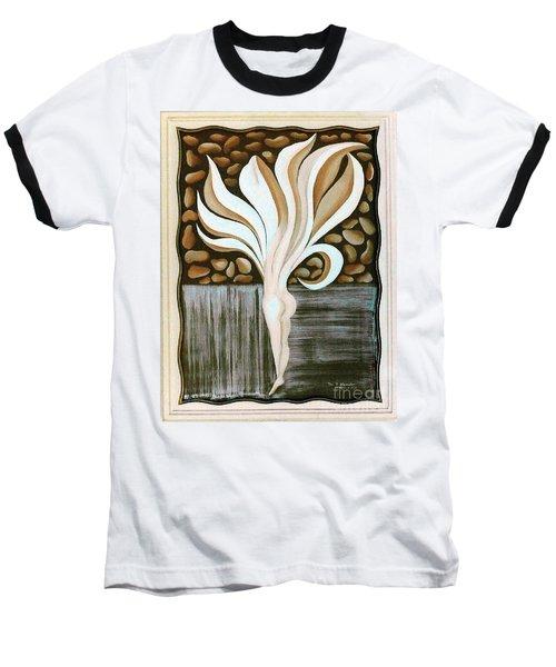Female Petal Baseball T-Shirt