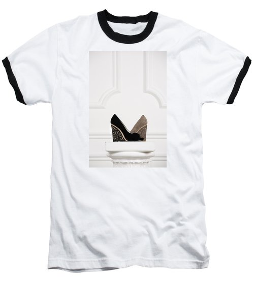 Baseball T-Shirt featuring the photograph Female Shoes by Andrey  Godyaykin