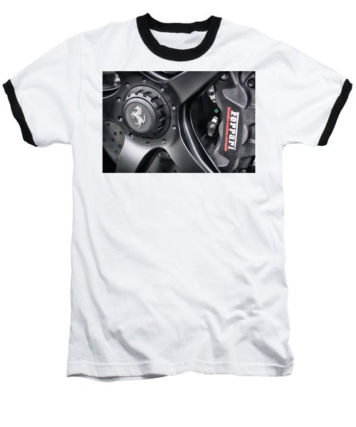 #ferrari #print Baseball T-Shirt
