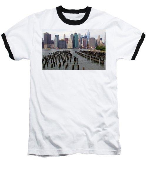 Ferry Hopping New York Baseball T-Shirt