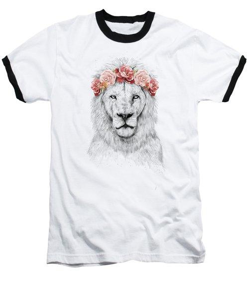 Festival Lion Baseball T-Shirt