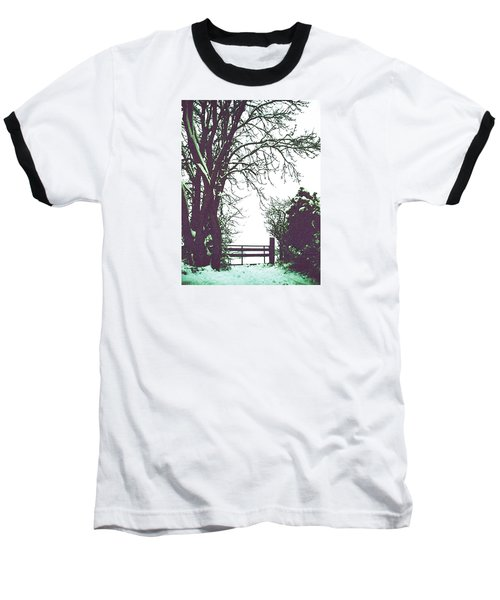 Field Gate Baseball T-Shirt by Anne Kotan