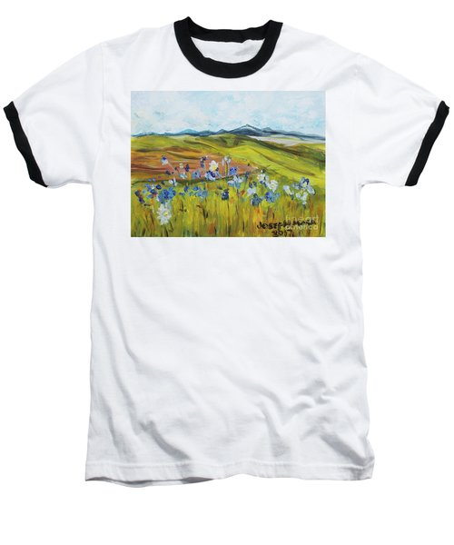 Field With Flowers Baseball T-Shirt
