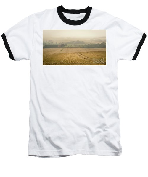 Baseball T-Shirt featuring the photograph Fields Of Gold by Perry Rodriguez