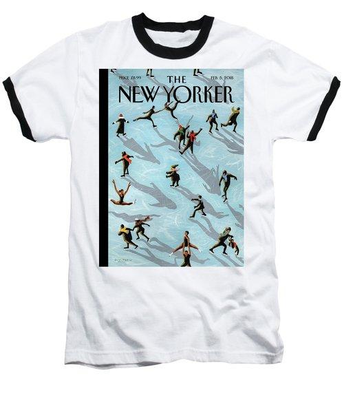 Figured Skaters Baseball T-Shirt