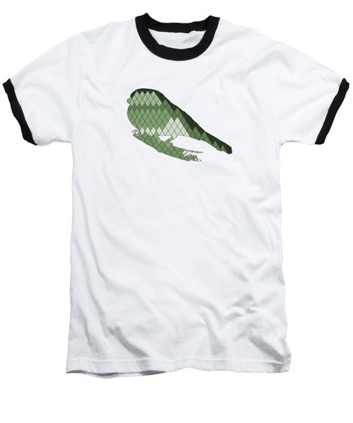 Finch Baseball T-Shirt by Mordax Furittus