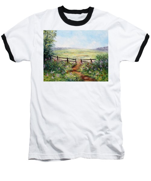 Finding Pasture Baseball T-Shirt