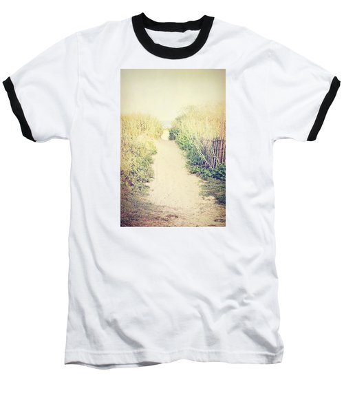 Baseball T-Shirt featuring the photograph Finding Your Way by Trish Mistric