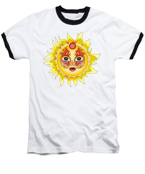Fire Element Baseball T-Shirt by Serena King