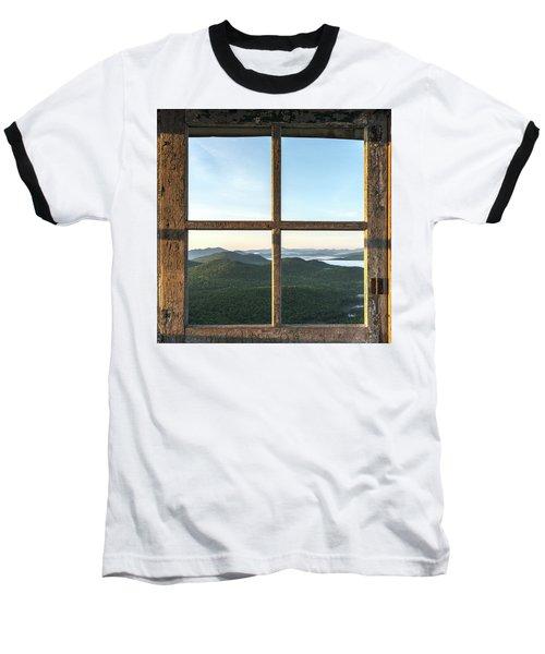 Fire Tower Frame Baseball T-Shirt