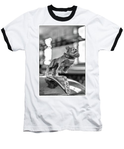 Baseball T-Shirt featuring the photograph Fire Truck Hood Ornament by Patricia Schaefer