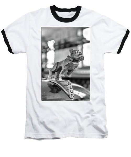 Fire Truck Hood Ornament Baseball T-Shirt by Patricia Schaefer