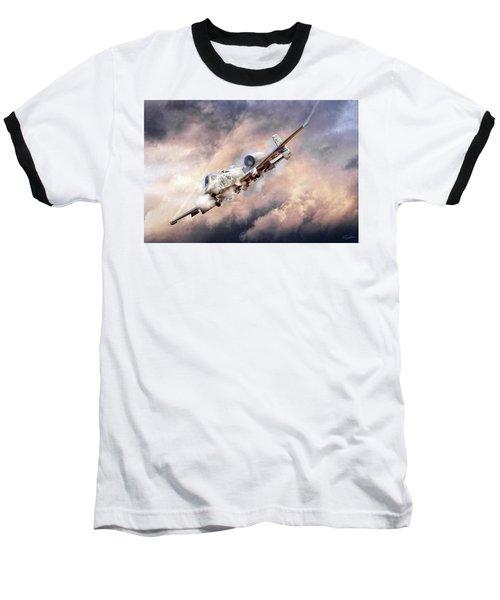 Firestorm Baseball T-Shirt by Peter Chilelli