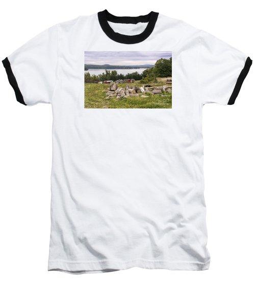 Firewood And Ice Houses Baseball T-Shirt