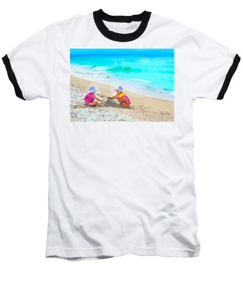 First Sand Castle Baseball T-Shirt