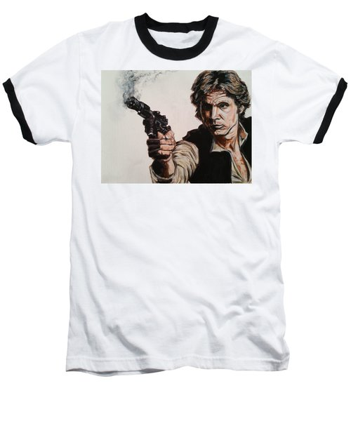 First Shot - Han Solo Baseball T-Shirt
