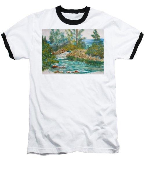 First Watercolour Baseball T-Shirt
