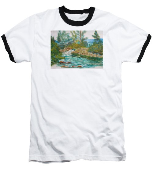 First Watercolour Baseball T-Shirt