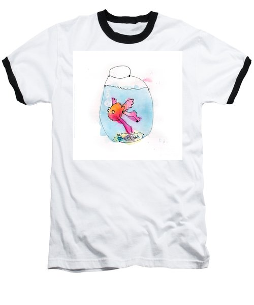 Fish Baseball T-Shirt