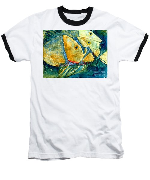 Fish Friends Baseball T-Shirt