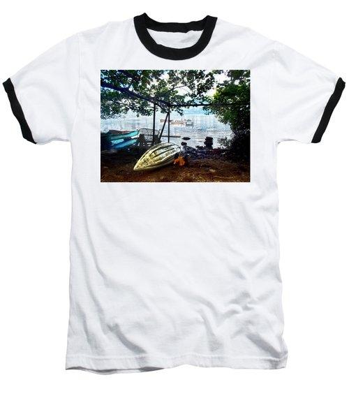 Fisherman's Cove In Moorea Baseball T-Shirt