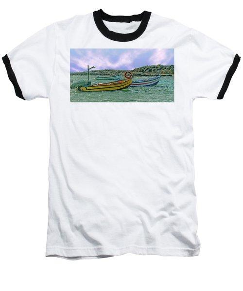 Fishermen's Wharf Baseball T-Shirt