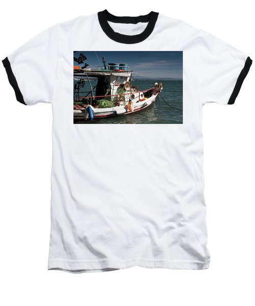 Fishing Baseball T-Shirt