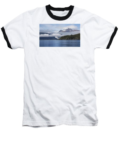 Fishing In Southeast Alaska Baseball T-Shirt by Michele Cornelius