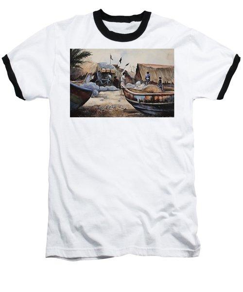 Fishing Village Of Puri Baseball T-Shirt