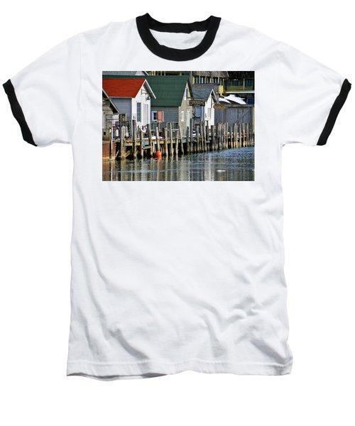 Fishtown In Leland Baseball T-Shirt