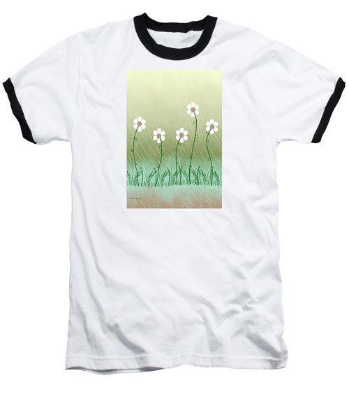 Five Days Of Daisies Baseball T-Shirt