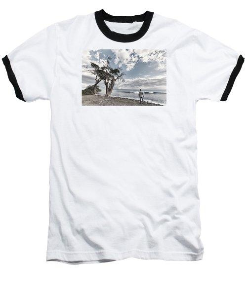 Fla-150717-nd800e-25974-color Baseball T-Shirt by Fernando Lopez Arbarello