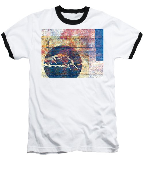 Flag Baseball T-Shirt by Gabrielle Schertz