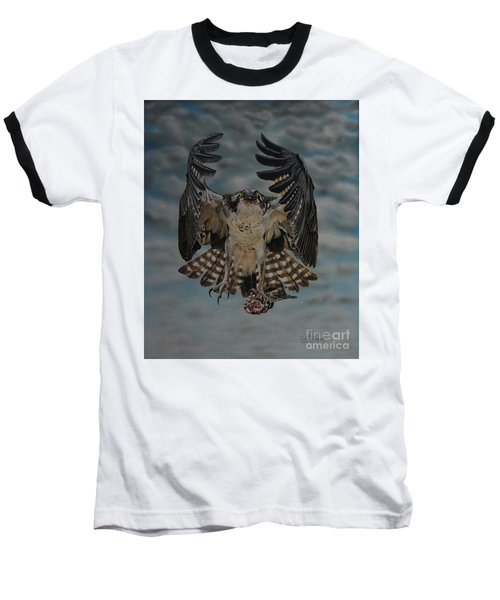 Fleck The Osprey  Baseball T-Shirt