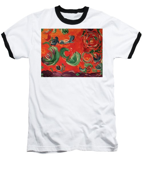 Flight Of Lotus Baseball T-Shirt
