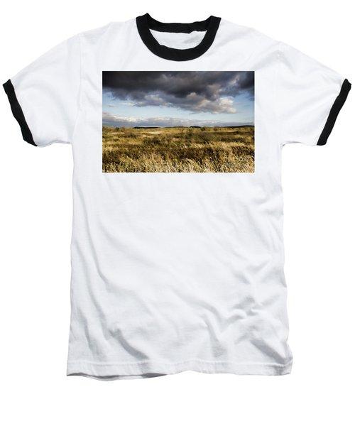 Flinders Ranges Fields V3 Baseball T-Shirt by Douglas Barnard