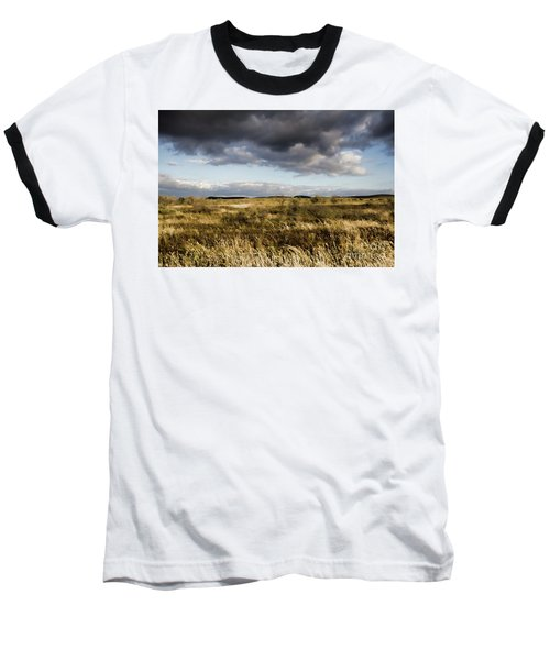 Baseball T-Shirt featuring the photograph Flinders Ranges Fields V3 by Douglas Barnard