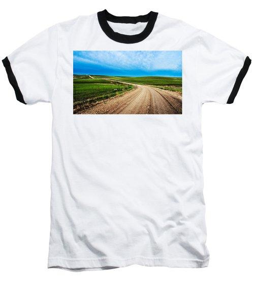 Flint Hills Spring Gravel Baseball T-Shirt