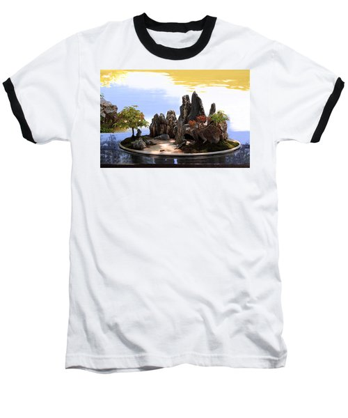 Floating Island Baseball T-Shirt